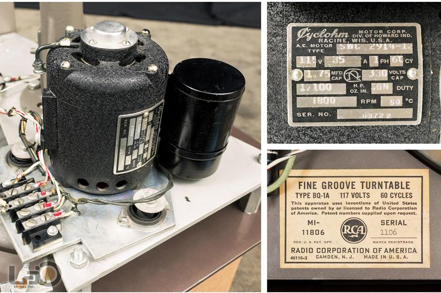 RCA BQ-1A  FINE GROOVE TURNTABLE ◇  局用ターンテーブル14