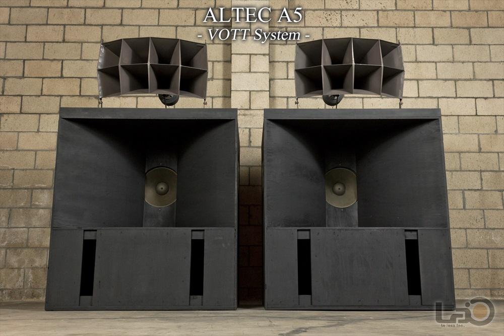 ALTEC A5 (515/288/N500C) ◇ アルテック 劇場特大スピーカー ペア