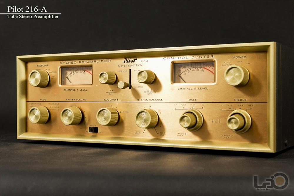 米国 Pilot 216-A Stereo Preamplifier ◇ <BR>パイロット 真空管 ステレオ・プリアンプ ◇2