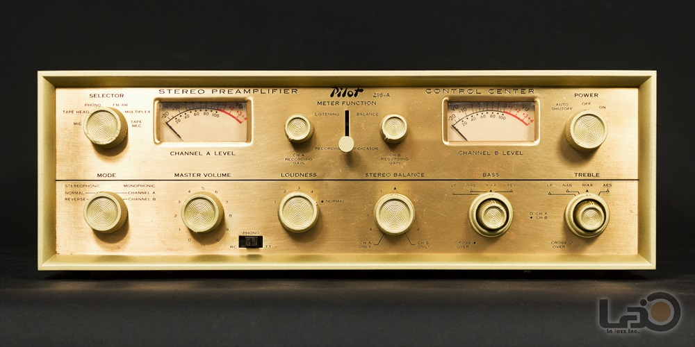 米国 Pilot 216-A Stereo Preamplifier ◇ <BR>パイロット 真空管 ステレオ・プリアンプ ◇5