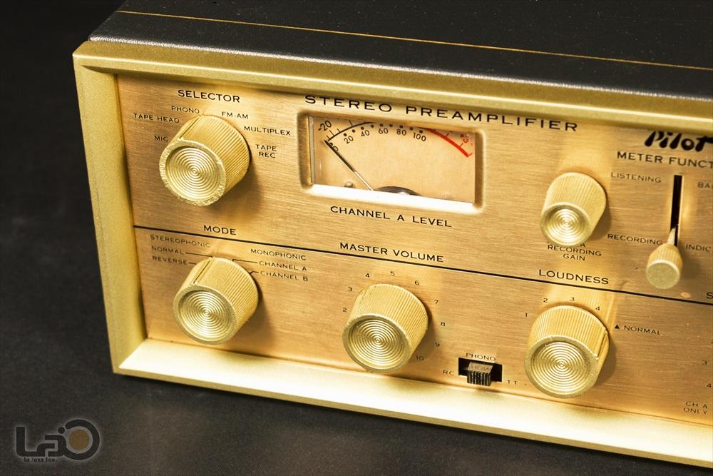 米国 Pilot 216-A Stereo Preamplifier ◇ <BR>パイロット 真空管 ステレオ・プリアンプ ◇6