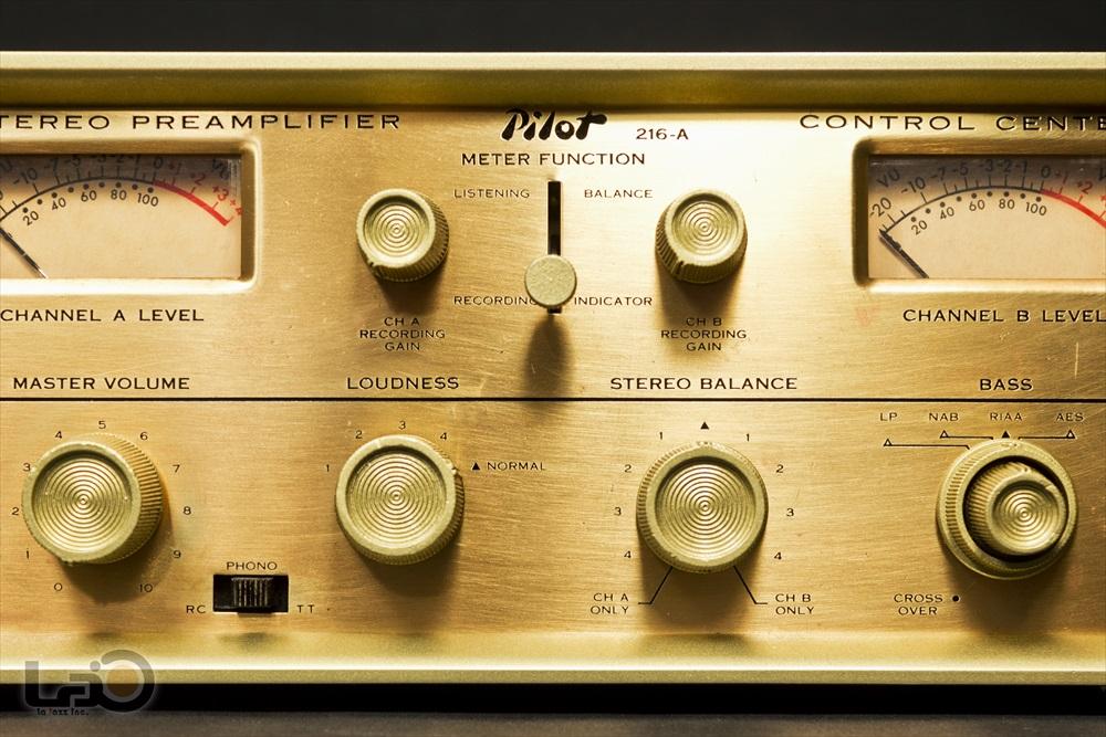 米国 Pilot 216-A Stereo Preamplifier ◇ <BR>パイロット 真空管 ステレオ・プリアンプ ◇7