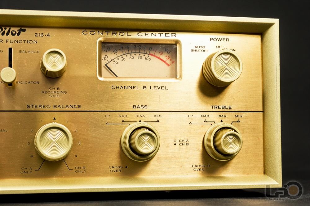 米国 Pilot 216-A Stereo Preamplifier ◇ <BR>パイロット 真空管 ステレオ・プリアンプ ◇8