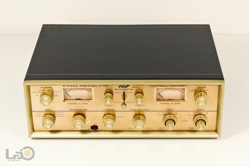 米国 Pilot 216-A Stereo Preamplifier ◇ <BR>パイロット 真空管 ステレオ・プリアンプ ◇9