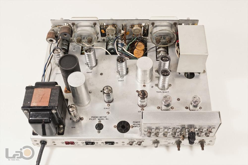 米国 Pilot 216-A Stereo Preamplifier ◇ <BR>パイロット 真空管 ステレオ・プリアンプ ◇13