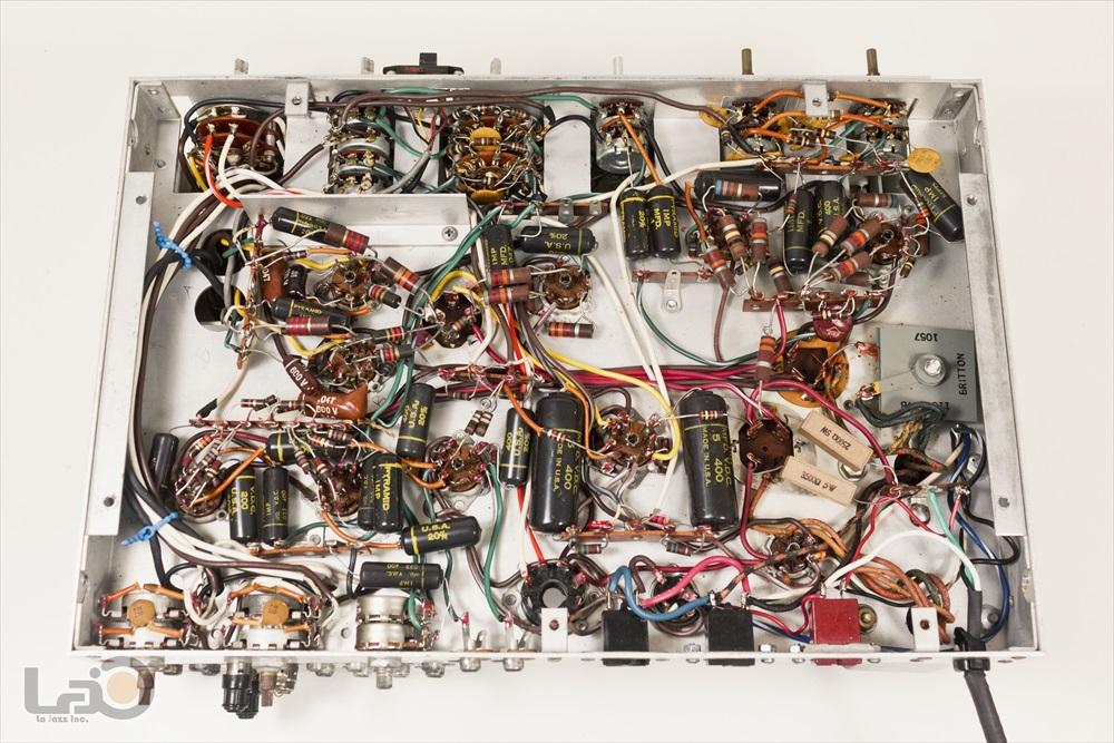 米国 Pilot 216-A Stereo Preamplifier ◇ <BR>パイロット 真空管 ステレオ・プリアンプ ◇16