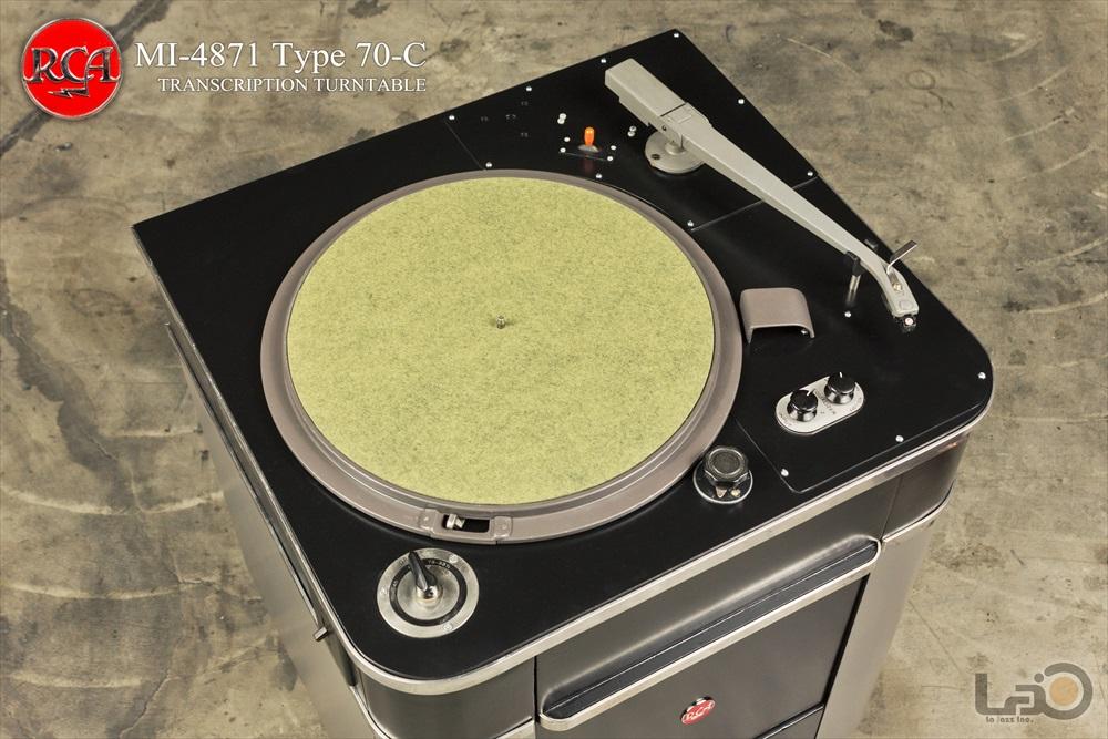 RCA Type 70-C (MI-4871) ◇ 16インチ・局用ターンテーブル / RCA純正トーンアーム2
