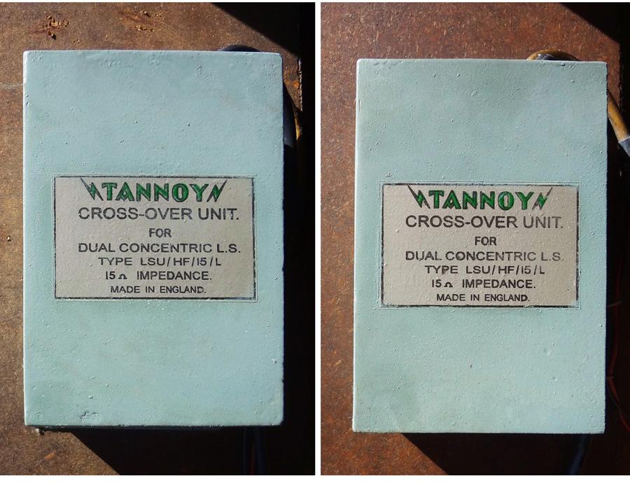 """TANNOY G.R.F. ◇ TANNOY  """"モニター RED"""" 15インチ8"""