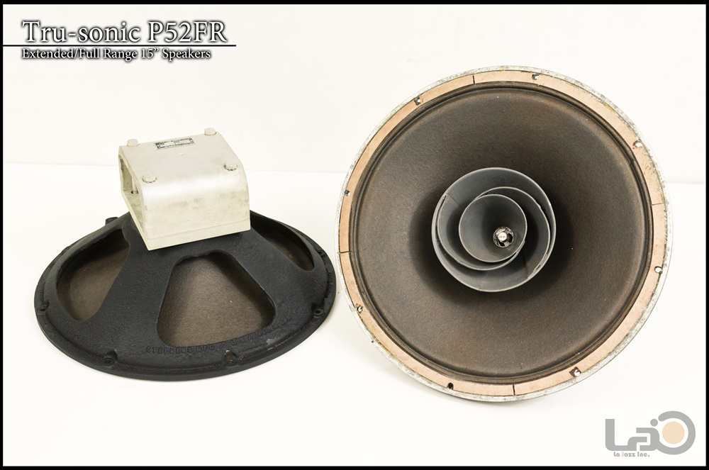 Tru-sonic Trusonic P52FR フルレンジ・スピーカー +18