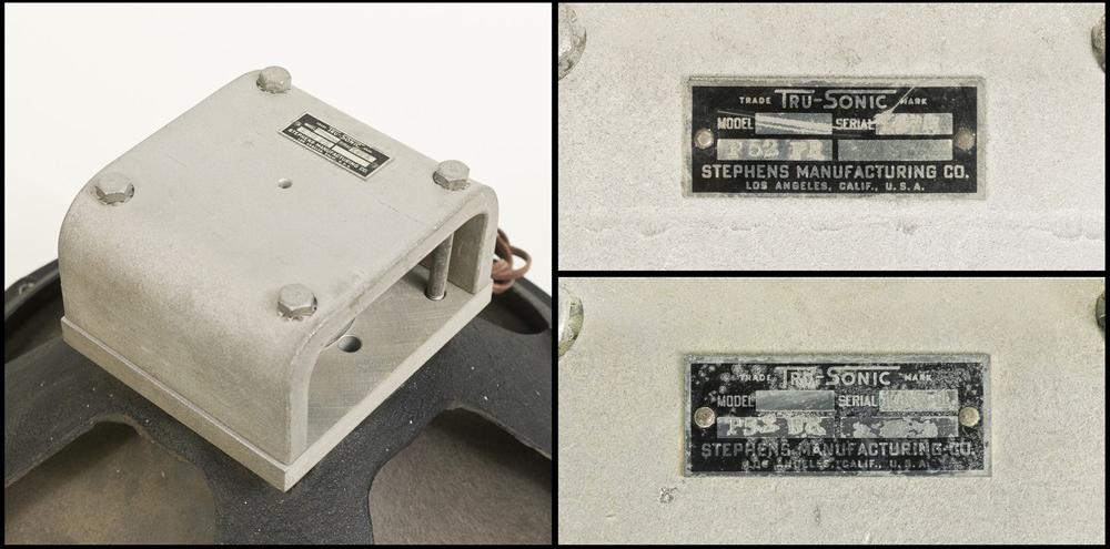 Tru-sonic Trusonic P52FR フルレンジ・スピーカー +23