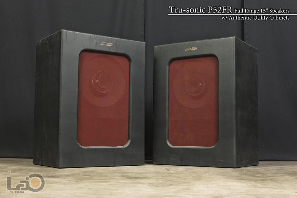 Tru-sonic Trusonic P52FR フルレンジ・スピーカー +26